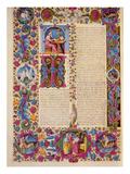 Fol172V Second Gospel of John  from the Borso D'Este Bible Vol 2 (Vellum)