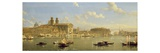 The Giudecca  Venice  1854 (Oil on Canvas)