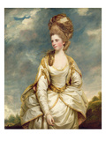 Miss Sarah Campbell  1777-78 (Oil on Canvas)