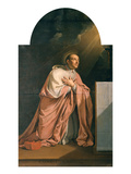 St Charles Borromeo (1538-84) (Oil on Canvas)