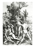 Hercules at the Crossroad  1498 (Engraving)