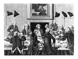 Tasting  1782 (Engraving)
