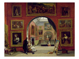 Interior of the Royal Institution  During the Old Master Exhibition  Summer 1832  1833