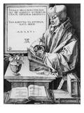 Desiderius Erasmus (1466-1536) of Rotterdam  1526 (Engraving)