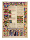 Fol229 Book of Jacob  from the Borso D'Este Bible Vol 1 (Vellum)