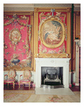 View of the Fire Place Designed by Adam in the Tapestry Room (Photo)
