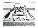 Thermae Antonianae (Engraving)