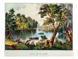Mill Cove Lake (Colour Litho)