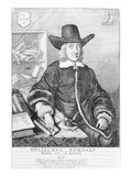 William Dugdale  1656 (Engraving)