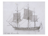 The Earl Cornwallis  C1786-94 (Pen and Ink and Wash on Paper)