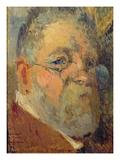 Self Portrait (Oil on Panel)