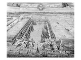 Howland Great Dock  Near Deptford  C1715-20 (Engraving)
