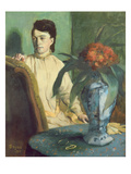 Woman with the Oriental Vase  1872 (Oil on Canvas)