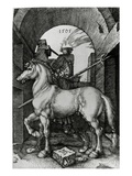 The Small Horse  1505 (Engraving)