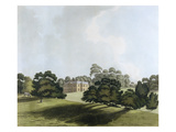 Vinters in Kent  Seat of James Whatman Esq  from 'Views in Kent'  1800 (Hand Coloured Aquatint)