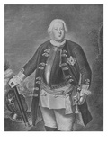 Friedrich Wilhelm I  King of Prussia (Engraving)