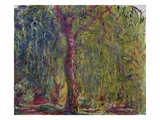 Weeping Willow  1918-19 (Oil on Canvas)