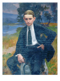 Portrait of Marcel Renoux Aged About 13 or 14