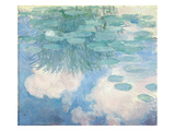Waterlilies  1914-17 (Oil on Canvas) (See Detail 382337)