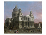 St Paul's Cathedral  1754 (Oil on Canvas)