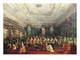 Gala Concert Given in January 1782 in Venice for the Tsarevich Paul of Russia and His Wife