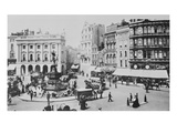 View of Piccadilly Circus  C 1900 (B/W Photo)