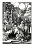 The Mass of St Gregory  1511 (Woodcut)