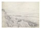 Salisbury Plain from Old Sarum  1829 (Graphite on Paper)