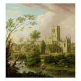 Kirkstall Abbey  Yorkshire  1747