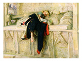 L&#39;Enfant Du Regiment (The Random Shot) 1855 (Oil on Paper Laid Down on Board)