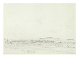 Old Sarum at Noon  1829 (Graphite on Wove Paper)