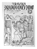 The Month of July  Storing Maize and Potatoes (Woodcut)