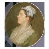 Anne Hogarth (1701-71)  c1740 (Pre-Conservation)