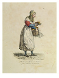 The Nanterre Cake Seller  Number 10 from 'The Cries of Paris' Series