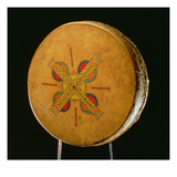 Osage Drum  from Oklahoma (Buffalo Hide)