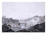 View of Some-Cheon on French Island  Taken from Danes Island  China  1793-94