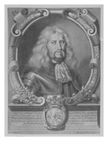 Ludwig Vi  Landgrave of Hesse-Darmstadt  Engraved by Bartholomaus Kilian Ii  1678 (Engraving)