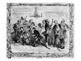 Christmas in the Servant&#39;s Hall (Litho)