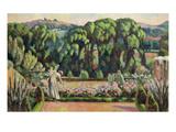 The Artist's Garden at Durbins  c1915