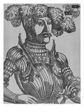 Philip I  Landgrave of Hesse (Woodcut)