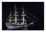 Model of an 18th Century Whaling Vessel (Wood)