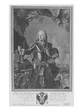 Francis I  Holy Roman Emperor  Engraved by Philipp Andreas Kilian (Engraving)