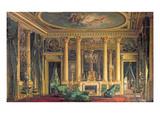 A Salon in the Hotel of Monsieur Basile Parent  Place Vendome  Paris  1866 (Oil on Panel)