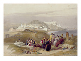 Jaffa  Ancient Joppa  April 16th 1839  Plate 61 from Volume II of &#39;The Holy Land&#39;