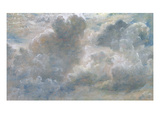 Study of Cumulus Clouds  1822 (Oil on Paper Laid on Canvas)