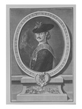 Leopold I  Prince of Anhalt-Dessau (Engraving)