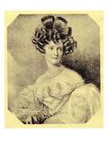 Princess Carolyne Zu Sayn-Wittgenstein  C1840 (Litho)