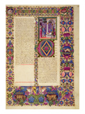 Fol179R the Book of Chronicles  from the Borso D'Este Bible Vol 1 (Vellum)