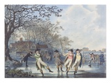 Winter Amusement: a View in Hyde Park from the Moated House  1787 (Aquatint)