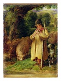 Shepherd Boy  1831 (Oil on Panel)